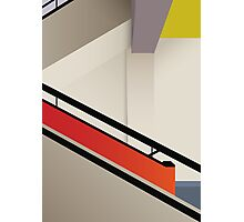 Funky Little Staircase Photographic Print