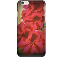 Martha Washington Geranium iPhone Case/Skin