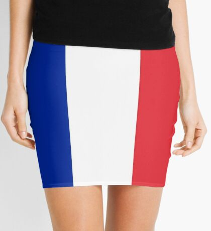Flag of France - High quality authentic version Mini Skirt