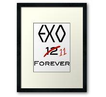 EXO 11 forever Framed Print