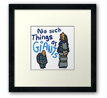 No such things... Framed Print