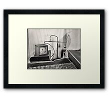 The Weight and The Thrust Framed Print