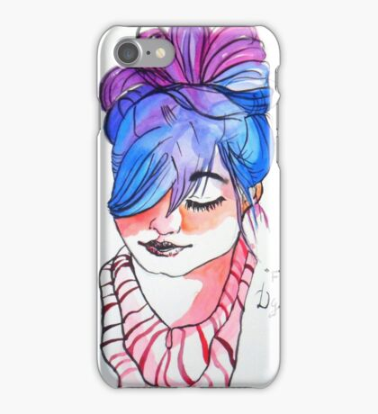 new fancy style girl iPhone Case/Skin
