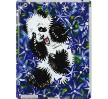 Playful Cub in Blue iPad Case/Skin