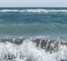 Scream Beach days  Sticker