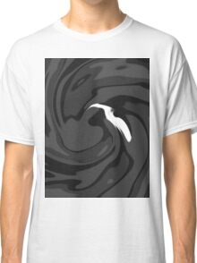 The Bird - Black Gray Classic T-Shirt