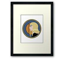 Terra Nouveau Circle Framed Print
