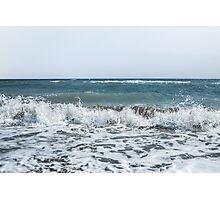 Scream Beach days  Photographic Print