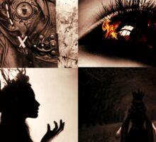 Queen Regina of Misthaven Sticker