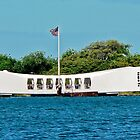 USS Arizona Memorial, Pearl Harbor by Martha Sherman
