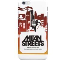 Mean Streets iPhone Case/Skin