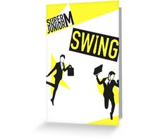 Super Junior- Swing Greeting Card