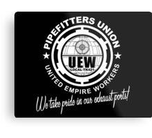 United Empire Workers Union Metal Print