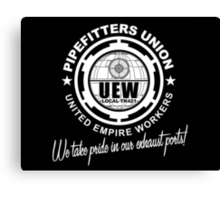 United Empire Workers Union Canvas Print