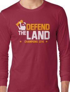 Defend The Land Long Sleeve T-Shirt