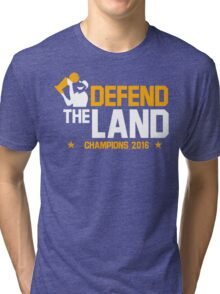 Defend The Land Tri-blend T-Shirt