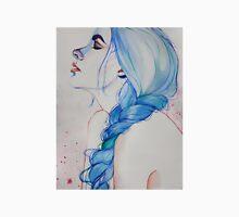 blue haired girl #2 Unisex T-Shirt