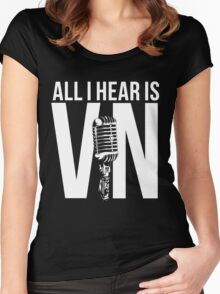 Vin Scully  Women's Fitted Scoop T-Shirt