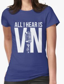Vin Scully  Womens Fitted T-Shirt