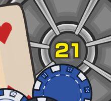 Vault 21 - Fallout Sticker