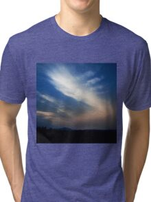 NEPHELAE - NYMPHS OF THE CLOUDS Tri-blend T-Shirt