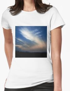 NEPHELAE - NYMPHS OF THE CLOUDS Womens Fitted T-Shirt