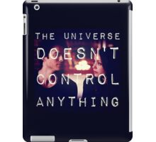 Listening to the Universe Laugh at me iPad Case/Skin