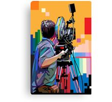 Director of photograph Canvas Print