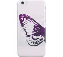 Purple Watercolor Butterfly iPhone Case/Skin