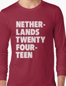 Team Netherlands for the World Cup 2014 Long Sleeve T-Shirt