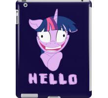 My Little Pony Twilight Sparkle Says Hello iPad Case/Skin