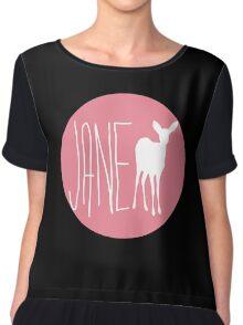 Life is strange Jane Doe circle Chiffon Top