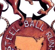 Steel ball run Sticker