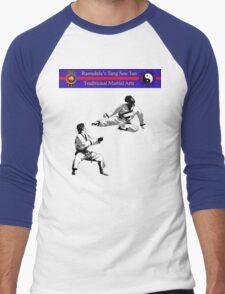 Flying Side Kick Men's Baseball ¾ T-Shirt