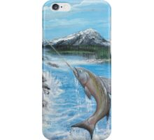 Pacific Northwest catch of the Day iPhone Case/Skin