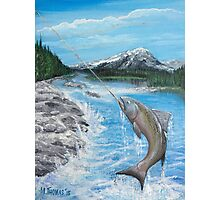 Pacific Northwest catch of the Day Photographic Print