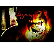 Agony Photographic Print