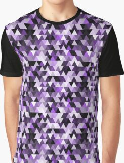 purple triangle repeat pattern Graphic T-Shirt