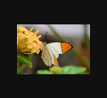 Little White and Orange Butterfly Unisex T-Shirt