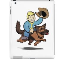 Vault boy and Dogmeat iPad Case/Skin