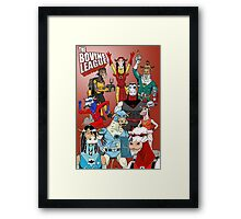 The Bovine League Framed Print