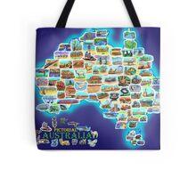 Pictorial Australia Tote Bag