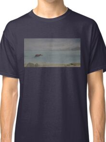 Red Boat Moored WC20150714b Classic T-Shirt