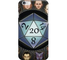 D&D D20 Races iPhone Case/Skin
