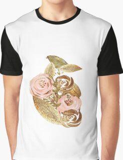 Gold Heart Graphic T-Shirt