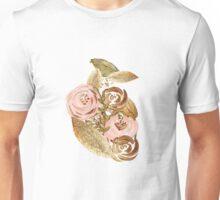 Gold Heart Unisex T-Shirt