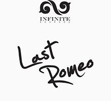 "Infinite - Last Romeo ""black"" Unisex T-Shirt"