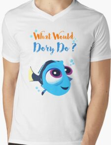 What would baby dory do Mens V-Neck T-Shirt
