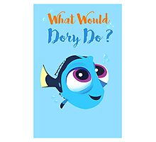 What would baby dory do Photographic Print