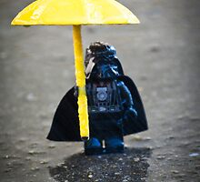 Darth in the Rain by Kristy Beck